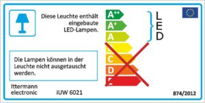 Energielabel iUW6021