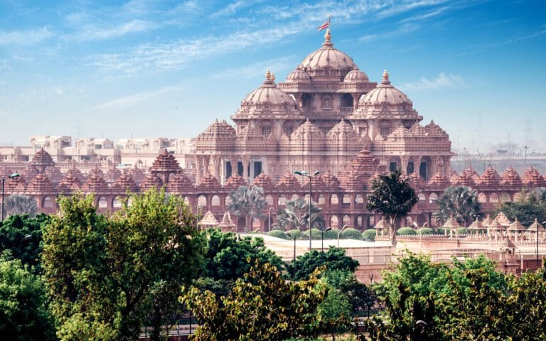 Akshardham Delhi Indien